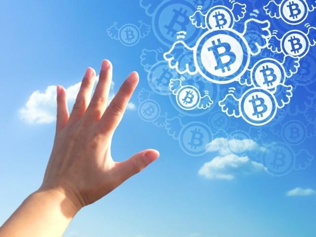 飛び立つ仮想通貨